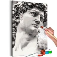 Obraz do samodzielnego malowania  Rzeźba