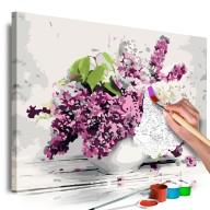 Obraz do samodzielnego malowania  Wazon i kwiaty