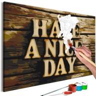 Obraz do samodzielnego malowania  Miłego dnia