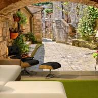 Fototapeta  Prowincjonalna uliczka w Toskanii