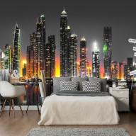 Fototapeta  Pustynne miasto (Dubaj)