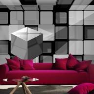 Fototapeta  Kosta Rubika w szarościach