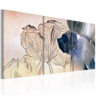 Obraz  Szkic tulipanów