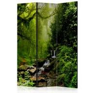 Parawan 3-częściowy - Baśniowy las [Room Dividers]