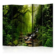 Parawan 5częściowy  Baśniowy las II [Room Dividers]