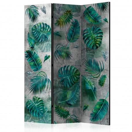 Parawan 3częściowy  Modernistyczna dżungla [Room Dividers]