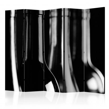 Parawan 5częściowy  Butelki do wina II [Room Dividers]