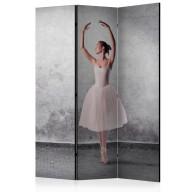 Parawan 3częściowy  Baletnica niczym z obrazu Degas [Room Dividers]
