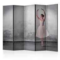 Parawan 5częściowy  Baletnica niczym z obrazu Degas [Room Dividers]
