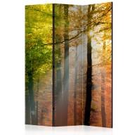 Parawan 3częściowy  Kolory lasu [Room Dividers]