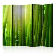 Parawan 5częściowy  Słońce i bambus [Room Dividers]