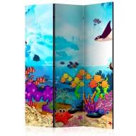 Parawan 3częściowy  Podwodna zabawa [Room Dividers]