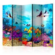 Parawan 5częściowy  Podwodna zabawa [Room Dividers]
