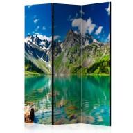 Parawan 3częściowy  Górskie jezioro [Room Dividers]