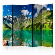 Parawan 5częściowy  Górskie jezioro [Room Dividers]