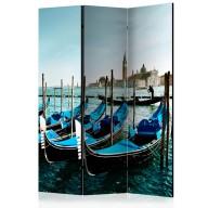 Parawan 3częściowy  Gondole na Canal Grande, Wenecja [Room Dividers]