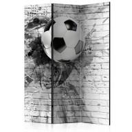 Parawan 3częściowy  Dynamika futbolu [Room Dividers]