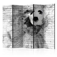 Parawan 5częściowy  Dynamika futbolu [Room Dividers]