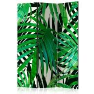 Parawan 3częściowy  Tropikalne liście [Room Dividers]