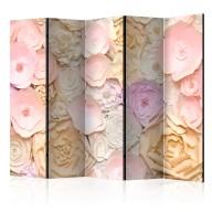 Parawan 5częściowy  Bukiet kwiatów [Room Dividers]