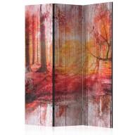 Parawan 3częściowy  Jesienny las [Room Dividers]