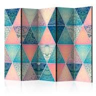 Parawan 5częściowy  Orientalne trójkąty [Room Dividers]