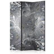 Parawan 3-częściowy - Orientalny deseń [Room Dividers]