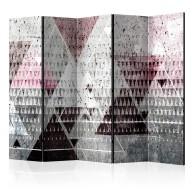 Parawan 5częściowy  Trójkąty [Room Dividers]
