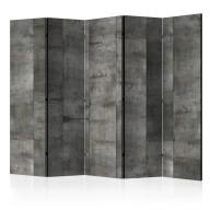 Parawan 5-częściowy - Stalowy wzór [Room Dividers]