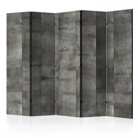 Parawan 5częściowy  Stalowy wzór [Room Dividers]