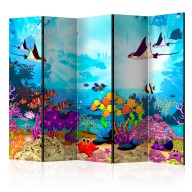 Parawan 5częściowy  Kolorowe rybki II [Room Dividers]