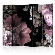 Parawan 5częściowy  Kwiaty z przeszłości II [Room Dividers]
