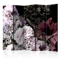 Parawan 5częściowy  Ogród vintage II [Room Dividers]