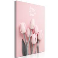 Obraz - Sześć tulipanów (1-częściowy) pionowy