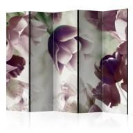 Parawan 5częściowy  Heavenly tulips II [Room Dividers]