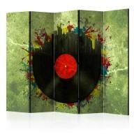 Parawan 5częściowy  Colorful melodies of the city II [Room Dividers]