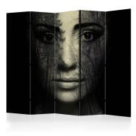 Parawan 5częściowy  Forest mask II [Room Dividers]