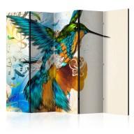 Parawan 5częściowy  Marvelous bird II [Room Dividers]