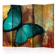 Parawan 5częściowy  Painted butterfly II [Room Dividers]