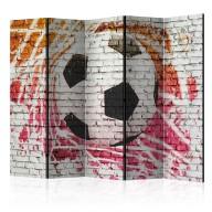 Parawan 5częściowy  Street football II [Room Dividers]