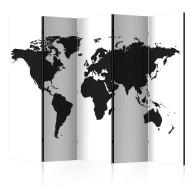 Parawan 5częściowy  Czarnobiały świat II [Room Dividers]