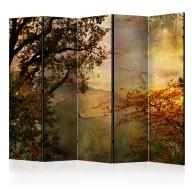 Parawan 5częściowy  Painted autumn II [Room Dividers]