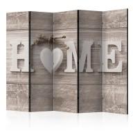 Parawan 5częściowy  Ciepło domowe II [Room Dividers]