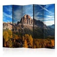 Parawan 5częściowy  Widok panoramiczny na włoskie Dolomity II [Room Dividers]