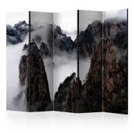 Parawan 5częściowy  Morze Chmur, Huang Shan, Chiny II [Room Dividers]