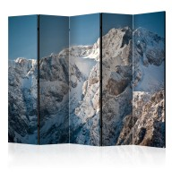 Parawan 5częściowy  Zima w Alpach II [Room Dividers]