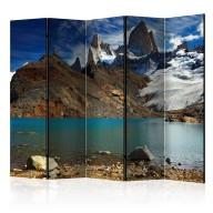 Parawan 5częściowy  Mount Fitz Roy, Patagonia, Argentina II [Room Dividers]