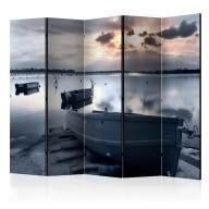 Parawan 5częściowy  Little port boats II [Room Dividers]
