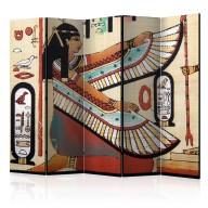 Parawan 5częściowy  Motywy egipskie II [Room Dividers]