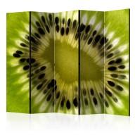 Parawan 5częściowy  owoce kiwi II [Room Dividers]